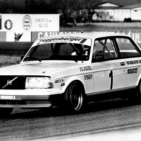 30 years ago: The Volvo 240 Turbo wins the European Touring Car Championship