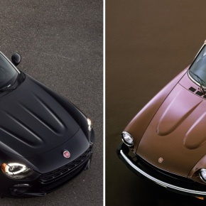 Olds vs. new: Comparing the 1981 Fiat Spider 2000 with the 2017 Fiat 124Spider