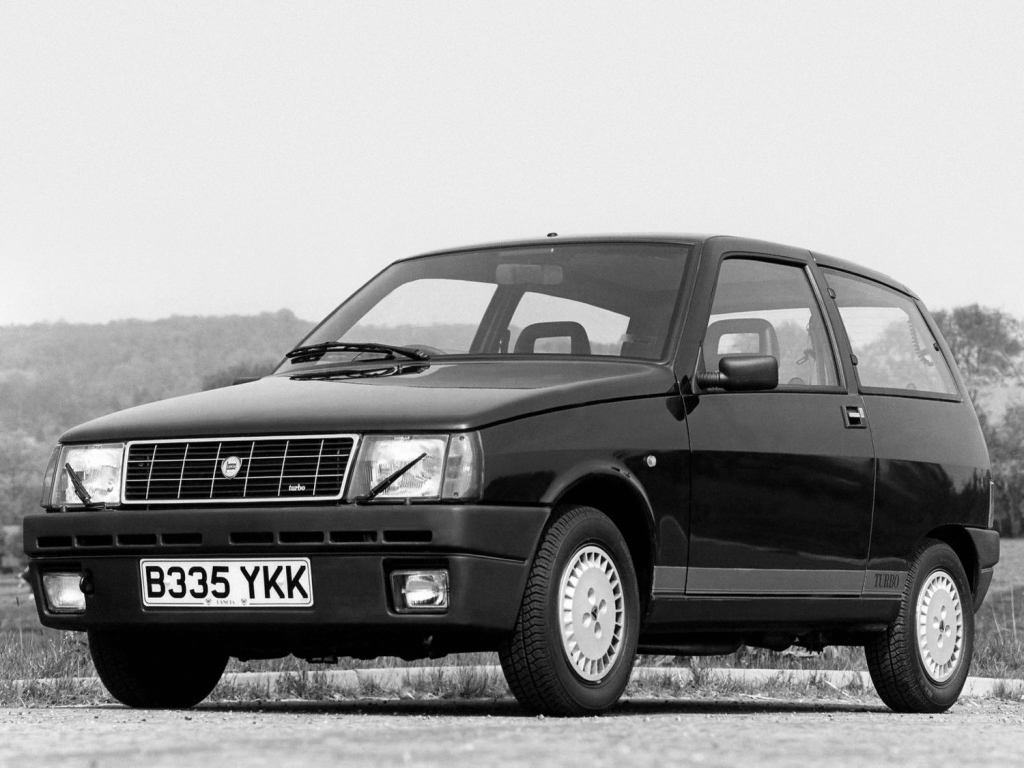 A look at lancias short lived y10 turbo ran when parked lancia y10 turbo uk spec 1 vanachro Choice Image