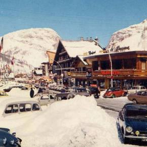 Rewind to Val d'Isere, France, in the 1960s