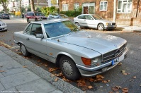 ranwhenparked-london-mercedes-benz-420sl-r107-1