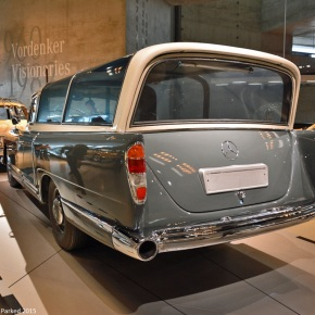 A look at the 1960 Mercedes-Benz 300 Messwagen, a one-of-a-kind rolling testlab