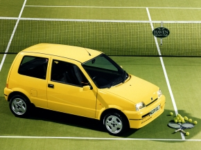 The 55-hp Fiat Cinquecento Sporting was one of the smallest hot hatches inItaly
