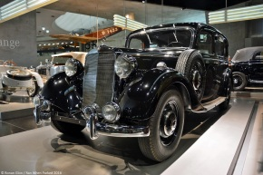 A look at the Mercedes-Benz 260D, the world's first regular-production diesel passenger car