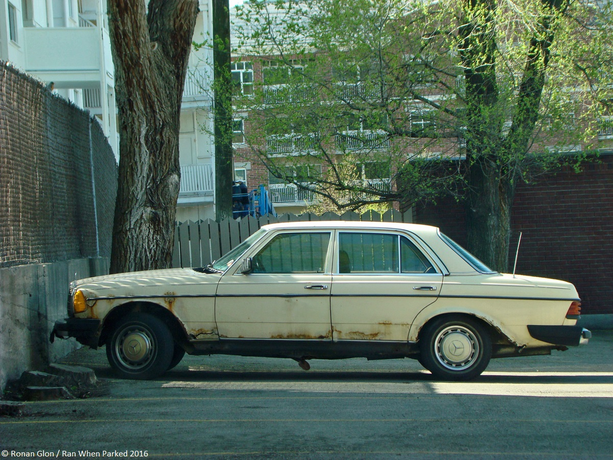 Ranwhenparked mercedes benz w123 240d rust 1 ran when parked for Mercedes benz w123