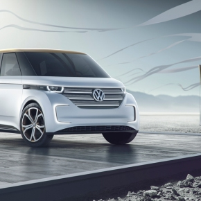 News: Volkswagen's Budd-e concept previews the electric Bus of the 21st century
