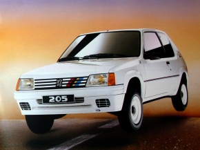 A look at the Peugeot 205Rallye