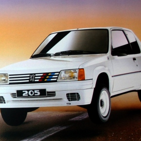 A look at the Peugeot 205 Rallye