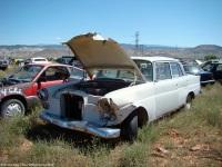 ranwhenparked-utah-junkyard-mercedes-200-1