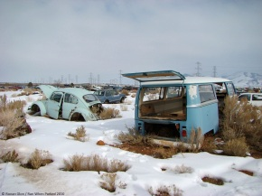Rust in peace: Classics in a Utah junkyard