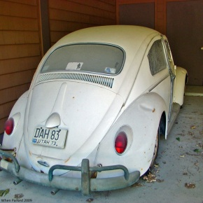 Rust in peace: Volkswagen Beetle