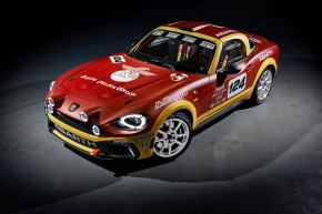 News: Abarth's heritage-laced 124 Rally packs a 300-hp turbo four