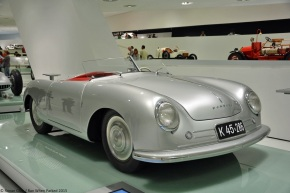 A look at the 1948 Type 356, the first car to wear the Porsche name