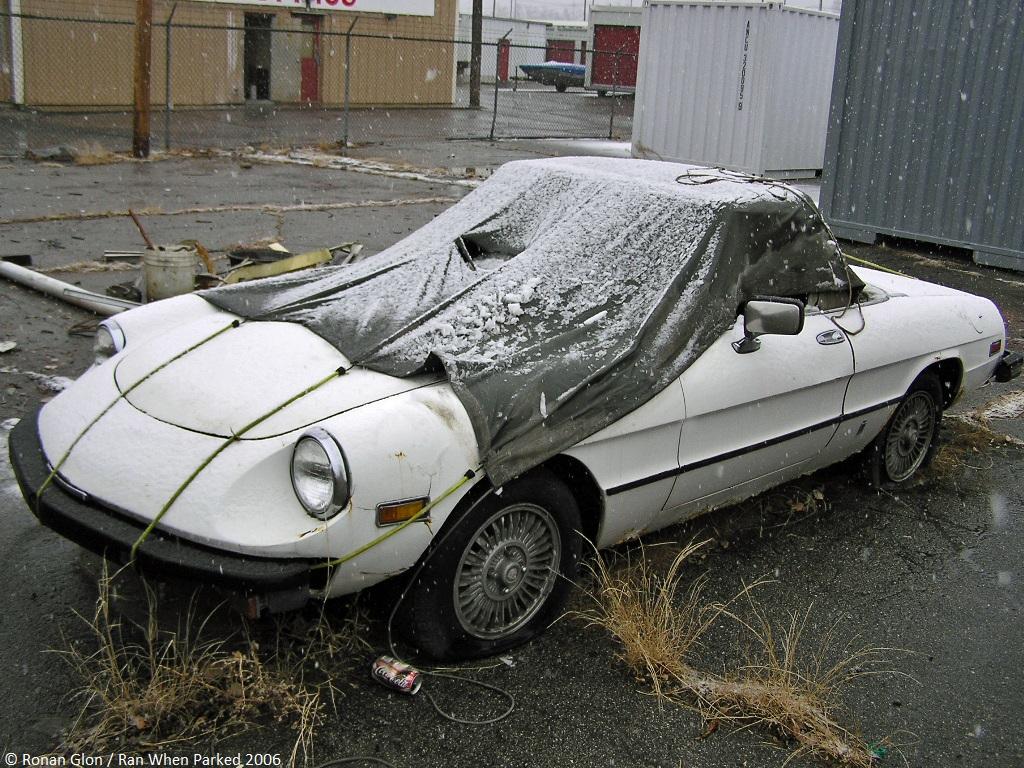 Rust In Peace Alfa Romeo Spider Ran When Parked - Alfa romeo spider parts