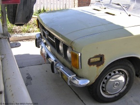 Rust in peace: Fiat 124 Special