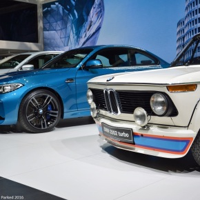 Live from the Geneva Auto Show: BMW 2002 Turbo