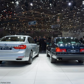 Live from the Geneva Auto Show: BMW 750iL (e32)