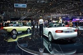 Live from the Geneva Auto Show: Fiat 124Spider