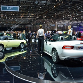 Live from the Geneva Auto Show: Fiat 124 Spider