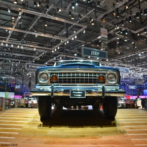 Live from the Geneva Auto Show: Jeep celebrates its 75th birthday with a trio of classics