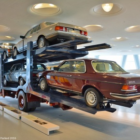A Mercedes-Benz 1624 car hauler is what dreams are made of