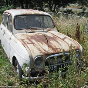 Rust in peace: Renault 4L