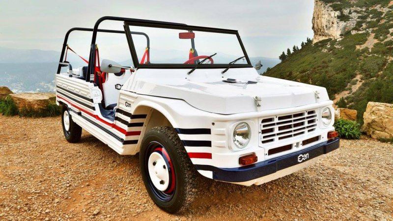 news citroen s iconic mehari goes electric ran when parked. Black Bedroom Furniture Sets. Home Design Ideas