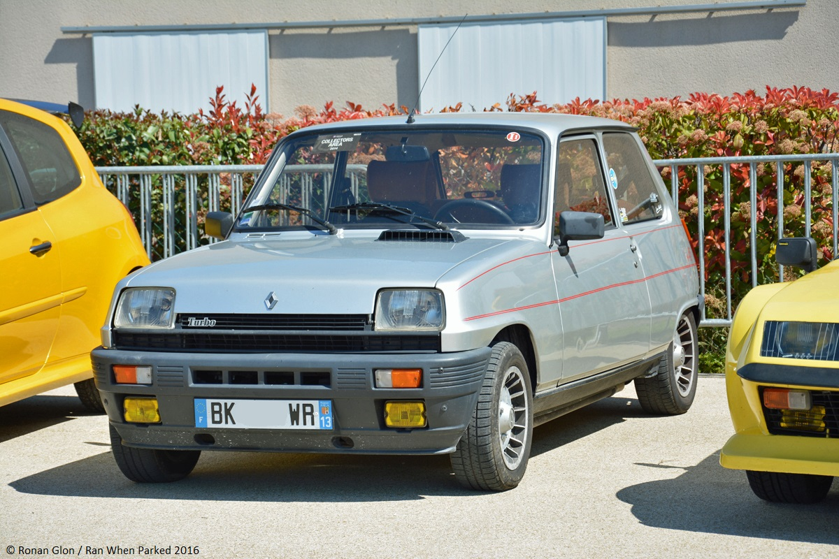 Ranwhenparked 13880 show renault 5 alpine turbo 1 ran for Garage renault velaux