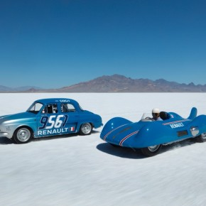 News: Renault Dauphine sets Bonneville speed record