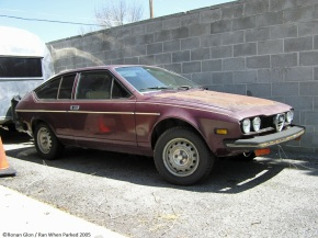 Rust in peace: Alfa Romeo AlfettaGT