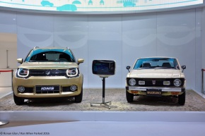 Live from the 2016 Paris Auto Show: Suzuki Cervo