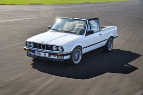 BMW built a one-off M3 Convertible pickup to transportparts