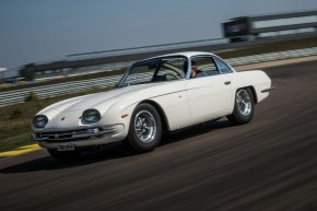News: Lamborghini fully restores an early 350 GT