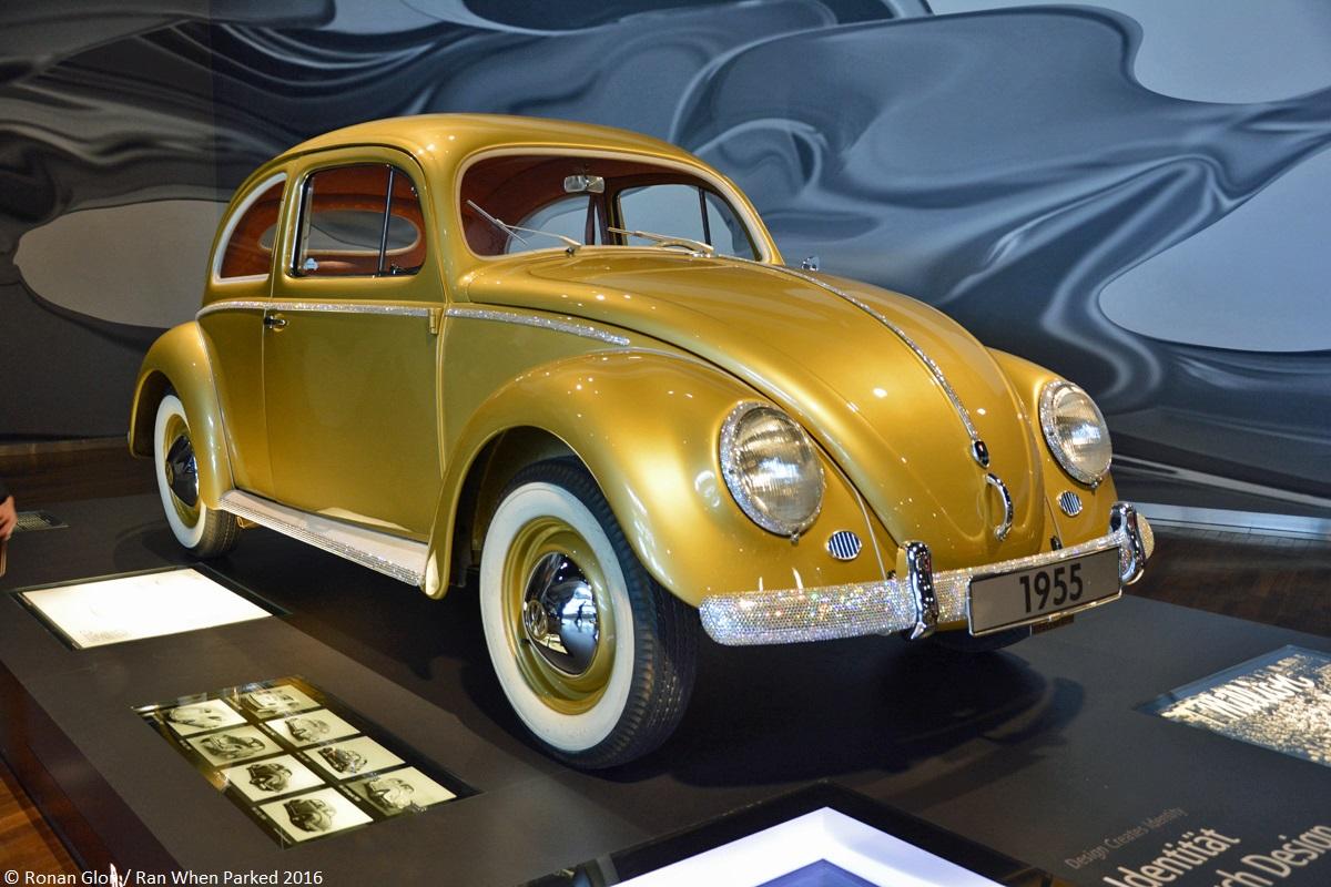 zeithaus treasures  millionth volkswagen beetle ran  parked
