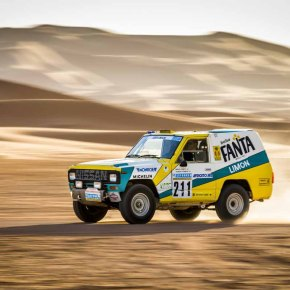 News: Nissan restores 1987 Patrol that participated in the Paris-Dakar