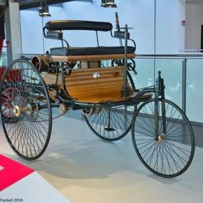 Zeithaus treasures: 1886 Benz Patent-Motorwagen