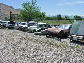 Rust in peace: junked European classics on the outskirts of Salt Lake City