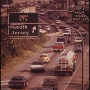 Rewind: early 1970s traffic jams in U.S. cities (parttwo)