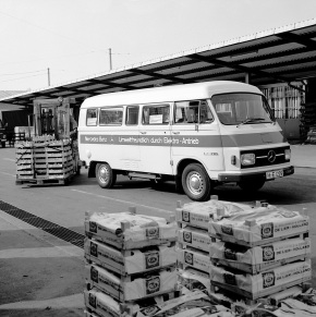 45 years ago: Mercedes-Benz introduces electric LE 306 van