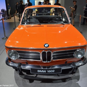 Live from the Shanghai Auto Show: BMW 1602 Elektro-Antrieb