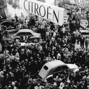 The Citroën 2CV was far from popular at the 1948 Paris Auto Show