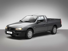 Iran Khodro transformed the venerable Peugeot 405 into a pickup