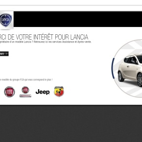 News: Lancia websites down across Europe