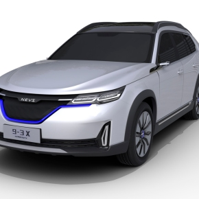 News: Saab-based NEVS 9-3 unveiled with electricpowertrain