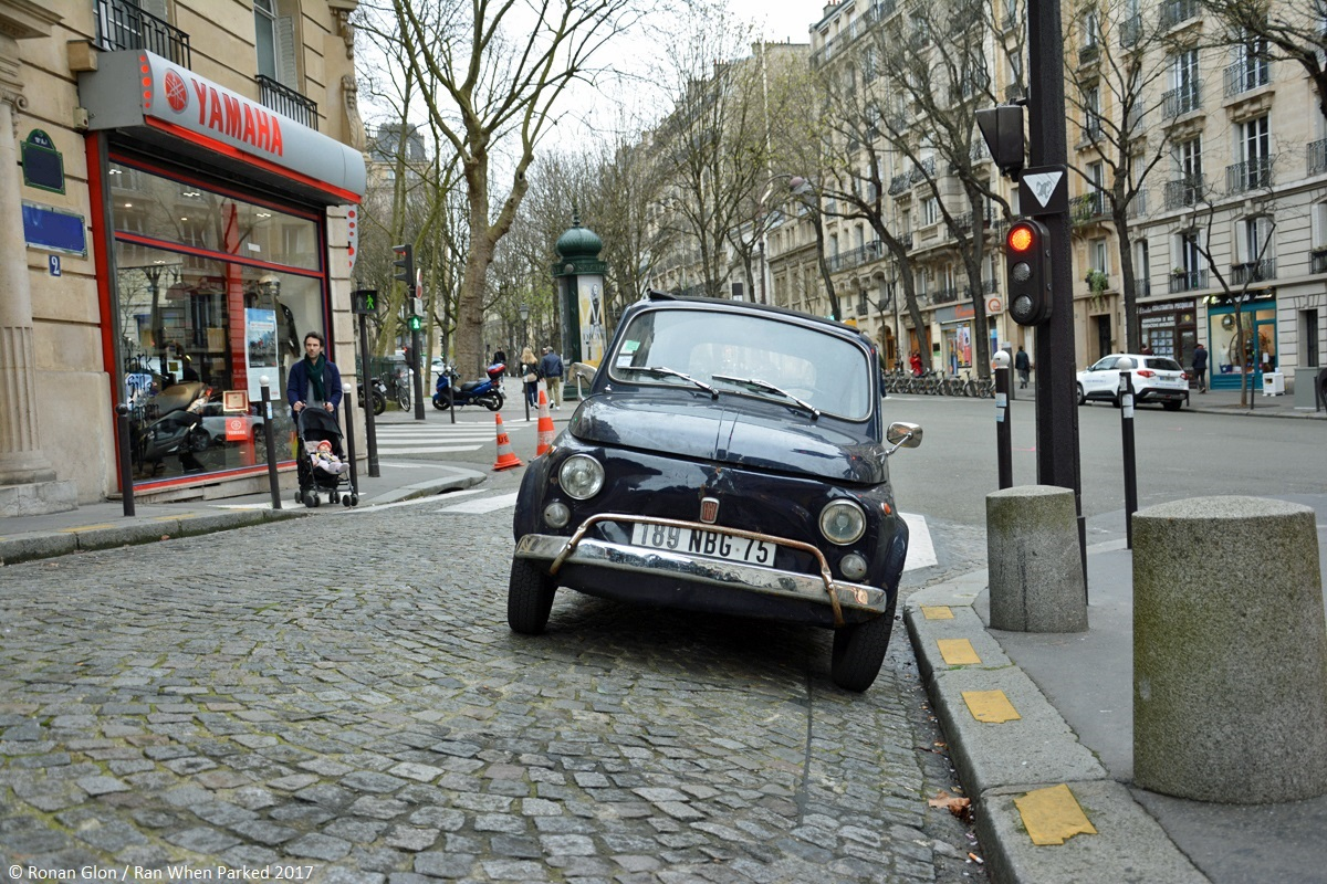 Ranwhenparked fiat 500l driven daily paris 3 ran when parked for Garage fiat paris
