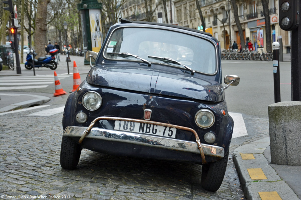Ranwhenparked fiat 500l driven daily paris 4 ran when parked for Garage fiat paris