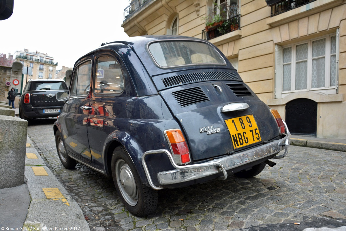 ranwhenparked fiat 500l driven daily paris 8 ran when parked. Black Bedroom Furniture Sets. Home Design Ideas