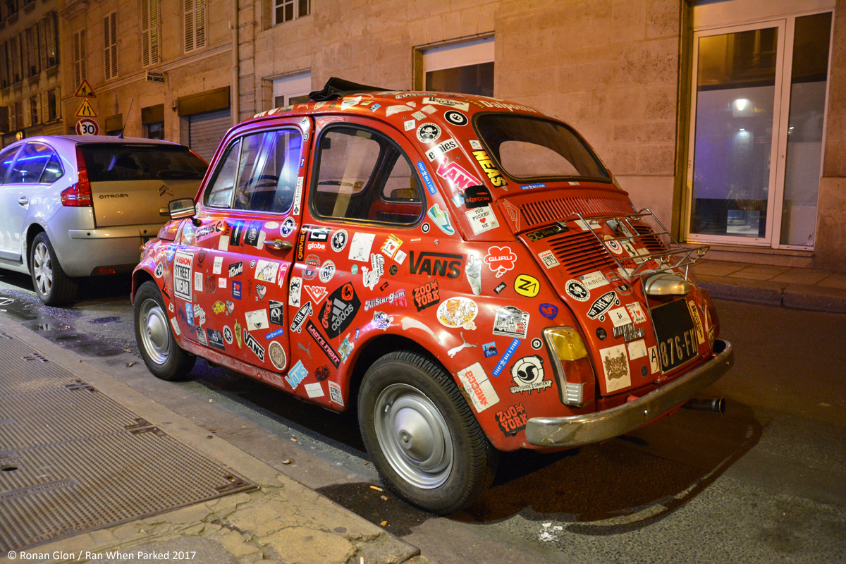 ranwhenparked paris 2017 fiat 500 stickers 2 ran when parked. Black Bedroom Furniture Sets. Home Design Ideas