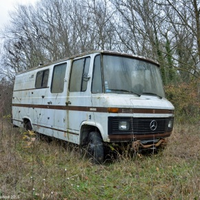 Rust in peace: Mercedes-Benz 407D