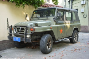 China's home-grown 4×4: BAW BJ2023